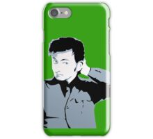 David Tennant iPhone Case Green iPhone Case/Skin