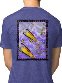 space ship invasion squadron  Tri-blend T-Shirt