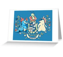 Johto Coat of Arms Greeting Card