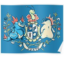 Johto Coat of Arms Poster