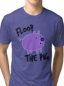 Floop the Pig Tri-blend T-Shirt