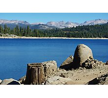 Lakeshore, Ice House Reservoir, California Photographic Print