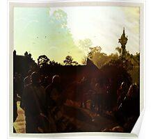 Pastel crowd 1 Poster