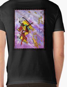space ship invasion zapgun jetgirl Mens V-Neck T-Shirt