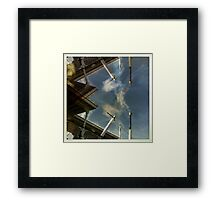 Lesser than Framed Print