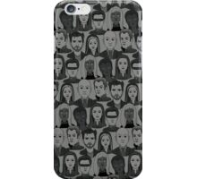 X Men Characters - Grey iPhone Case/Skin
