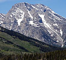 Grand Teton Mountain and Slope by Michael Kirsh