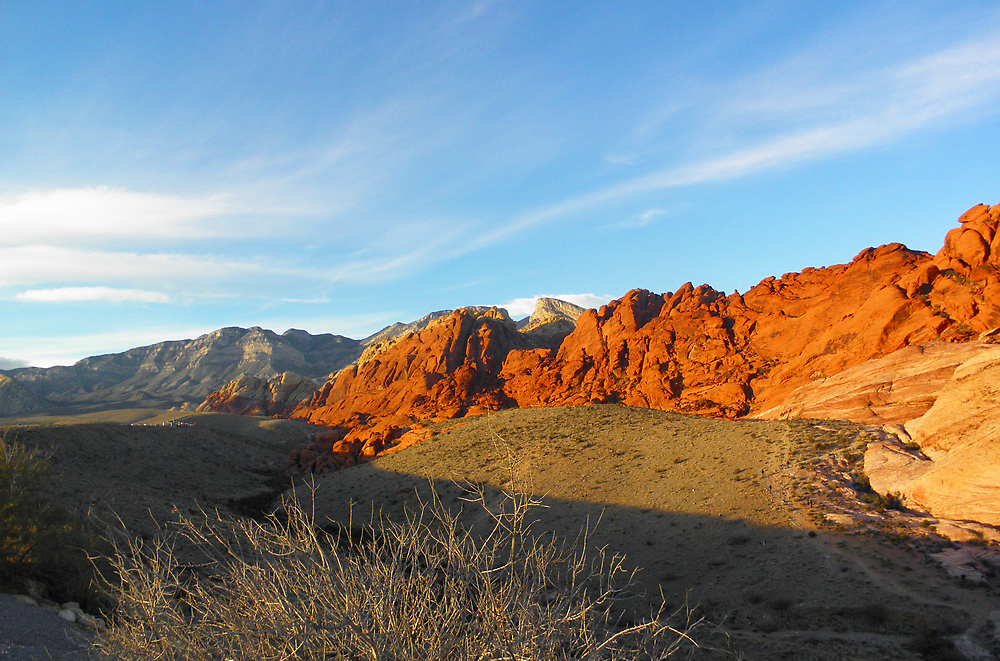 Red Rock Canyon Overlook by LVPhoto