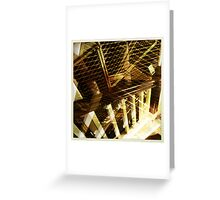 Criss Cross, Applesauce Greeting Card