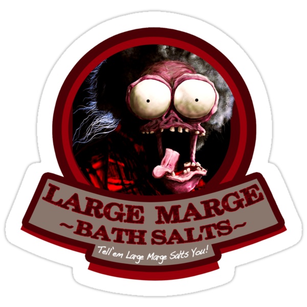 """Large Marge"" Brand Bath Salts  by TeeHut"