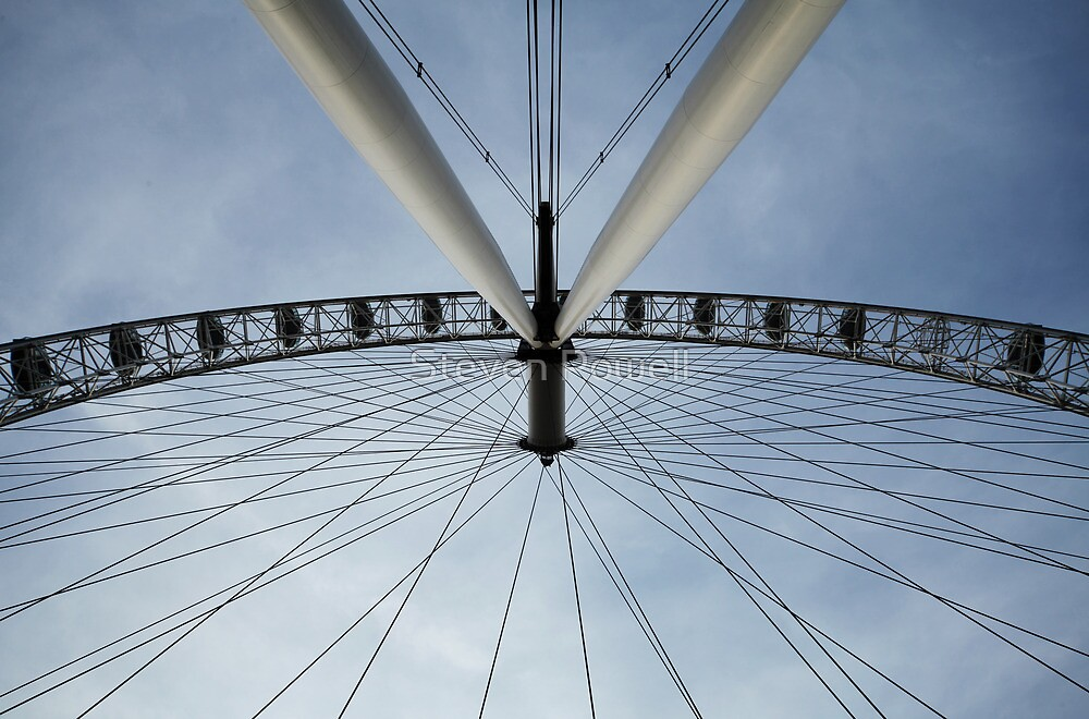London Eye by Steven Powell