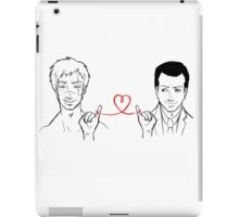 Moriarty and Moran - Red String of Fate iPad Case/Skin