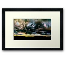 ©DA Dragon Cloud I Framed Print