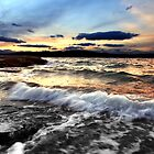 Sunset Mood - South Arm Beach, Tasmania by clickedbynic