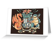 Kanto Coat of Arms Greeting Card