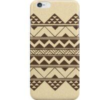 Polynesian geometric pattern iPhone Case/Skin