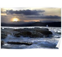 Almost Home - Derwent River, Tasmania Poster