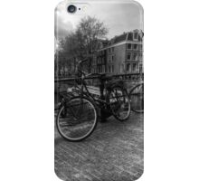 Amsterdam Bicycles iPhone Case/Skin