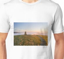 Mam Tor Trig Point Unisex T-Shirt