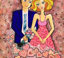 Valentine Dream by Lisa Frances Judd~QuirkyHappyArt