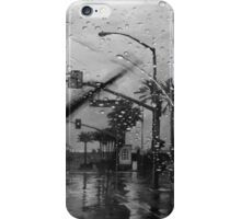 A Rainy Day in California iPhone Case/Skin