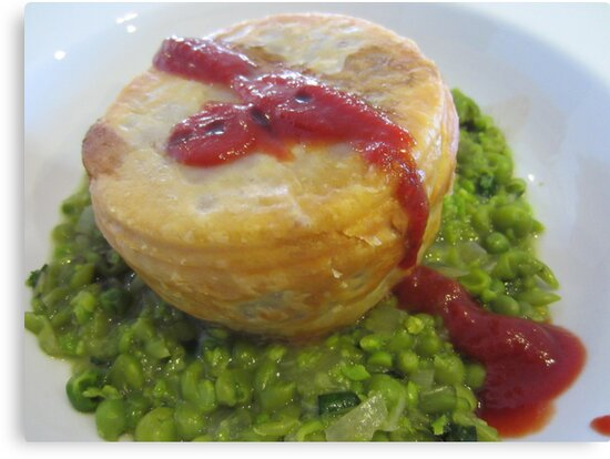 Aussie Pie Floater by v-something
