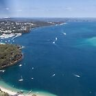 Boats on the Bay - Nelson Bay by Daniel Rankmore