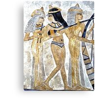 Egyptian Musicians Canvas Print