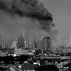 WORLD TRADE CENTER GOING DOWN by KENDALL EUTEMEY