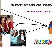 Not Dumb - Autistic by Teca Burq