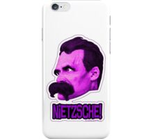 Nietzsche - Big Head Nietzsche! iPhone Case/Skin