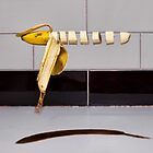 Floating sliced banana by DerekWells