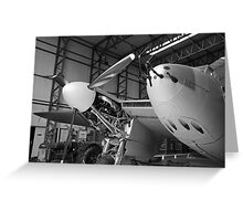 de Havilland Mosquito aircraft Greeting Card