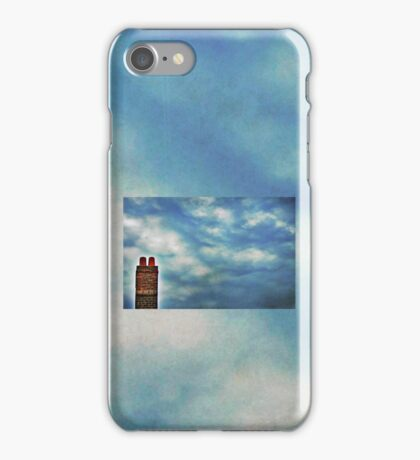 High Above The Chimney Top iPhone Case/Skin