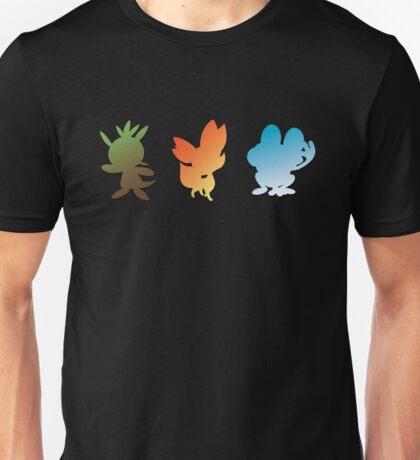 Pokemon X & Y Starters  Unisex T-Shirt
