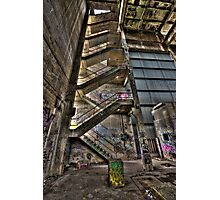 Derelict Stairs  Photographic Print