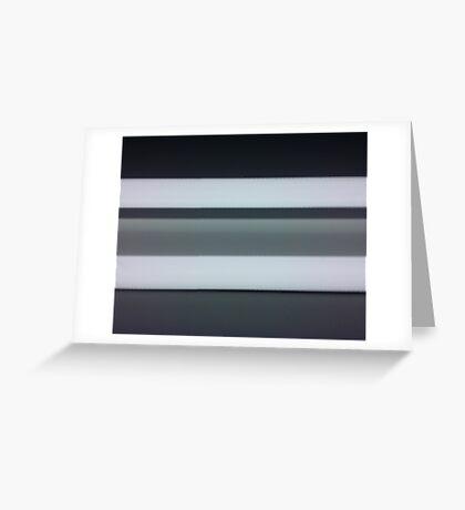 Lumina 7 - Monochrome Greeting Card