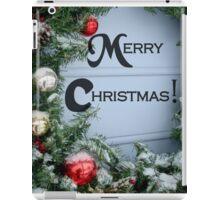Holiday Wreath ^ iPad Case/Skin