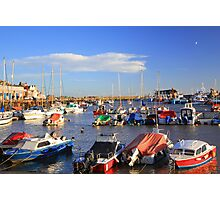 Bridlington harbour Photographic Print