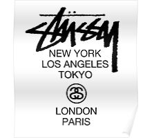Stussy Poster
