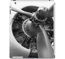 Douglas Dakota engine iPad Case/Skin