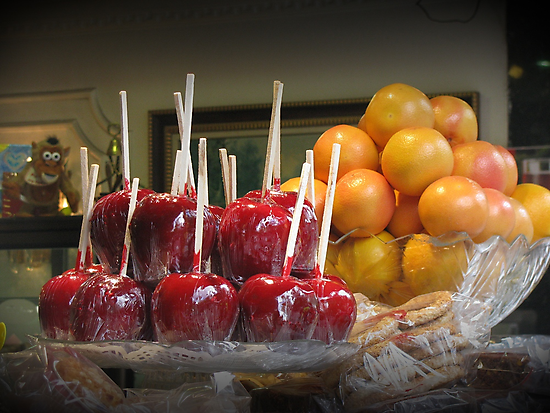 Toffee apples by rasim1
