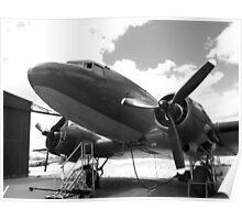 Douglas DC3 dakota aircraft Poster