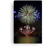 The Big Bang | New Years Eve | Sydney Harbour Canvas Print