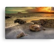 Little Rock Big Rock Canvas Print