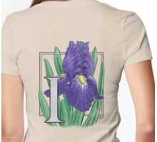 I is for Iris Womens Fitted T-Shirt