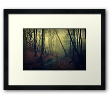 Trees are poems that earth writes upon the sky Framed Print