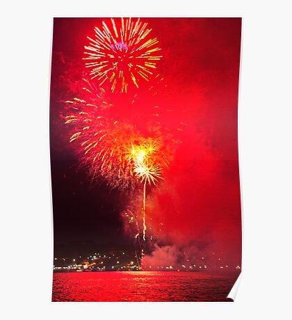 """""""A Big Red Bang"""" Poster"""
