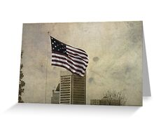 Winter On Federal Hill Greeting Card