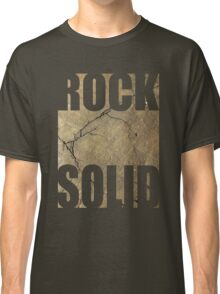 ROCK SOLID rock face Tee Classic T-Shirt